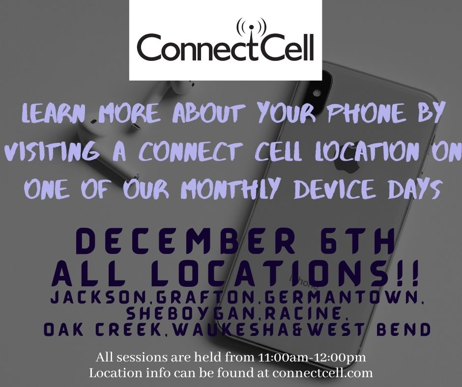 Connect Cell December Device Day
