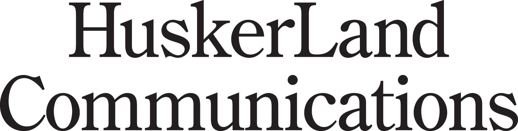 HuskerLand Communications logo