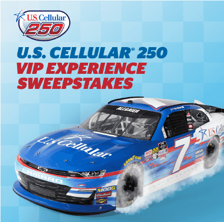 U.S. Cellular 250 - VIP experience sweepstakes