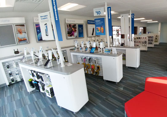 inside store phone selection