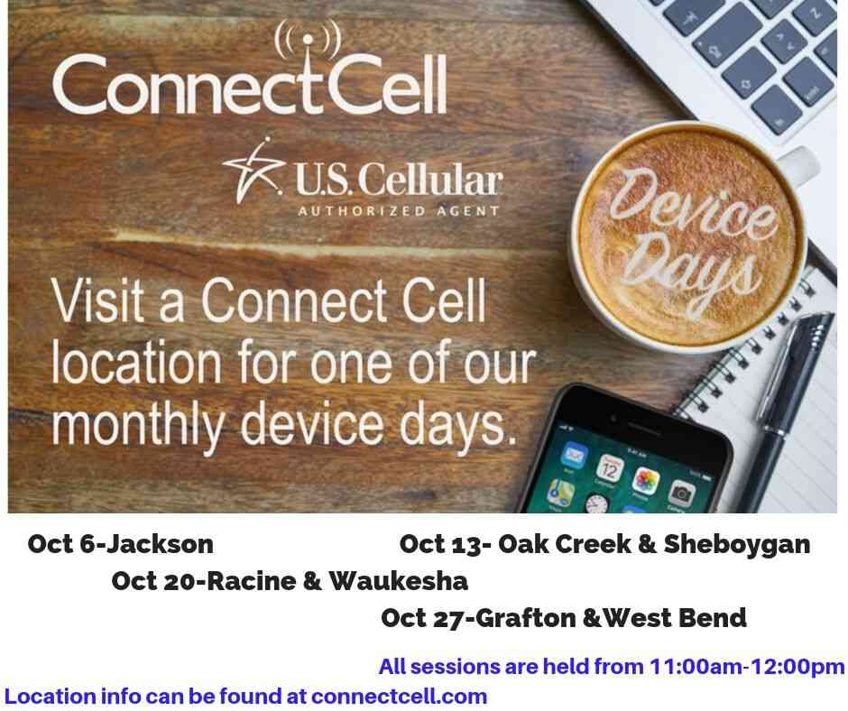 Device Days Racine Waukesha Connect cell